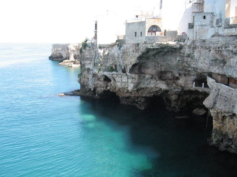grotta palazzese, mare