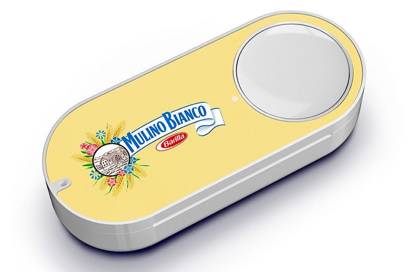 dash button mulino-bianco