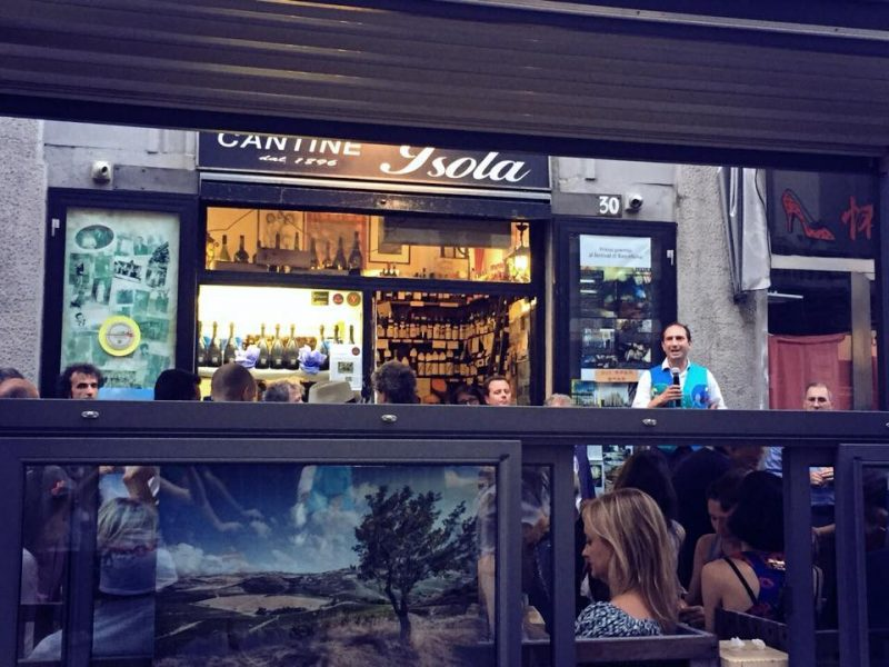 le cantine dell'isola