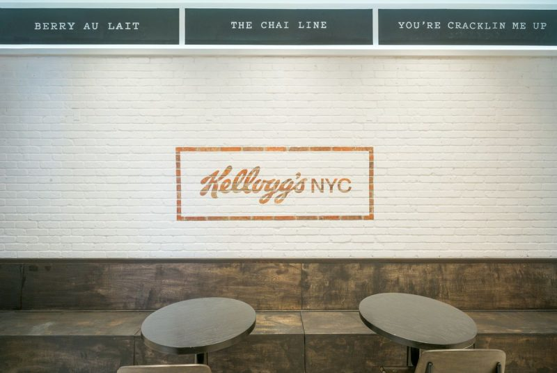 kelloggs cereal cafe