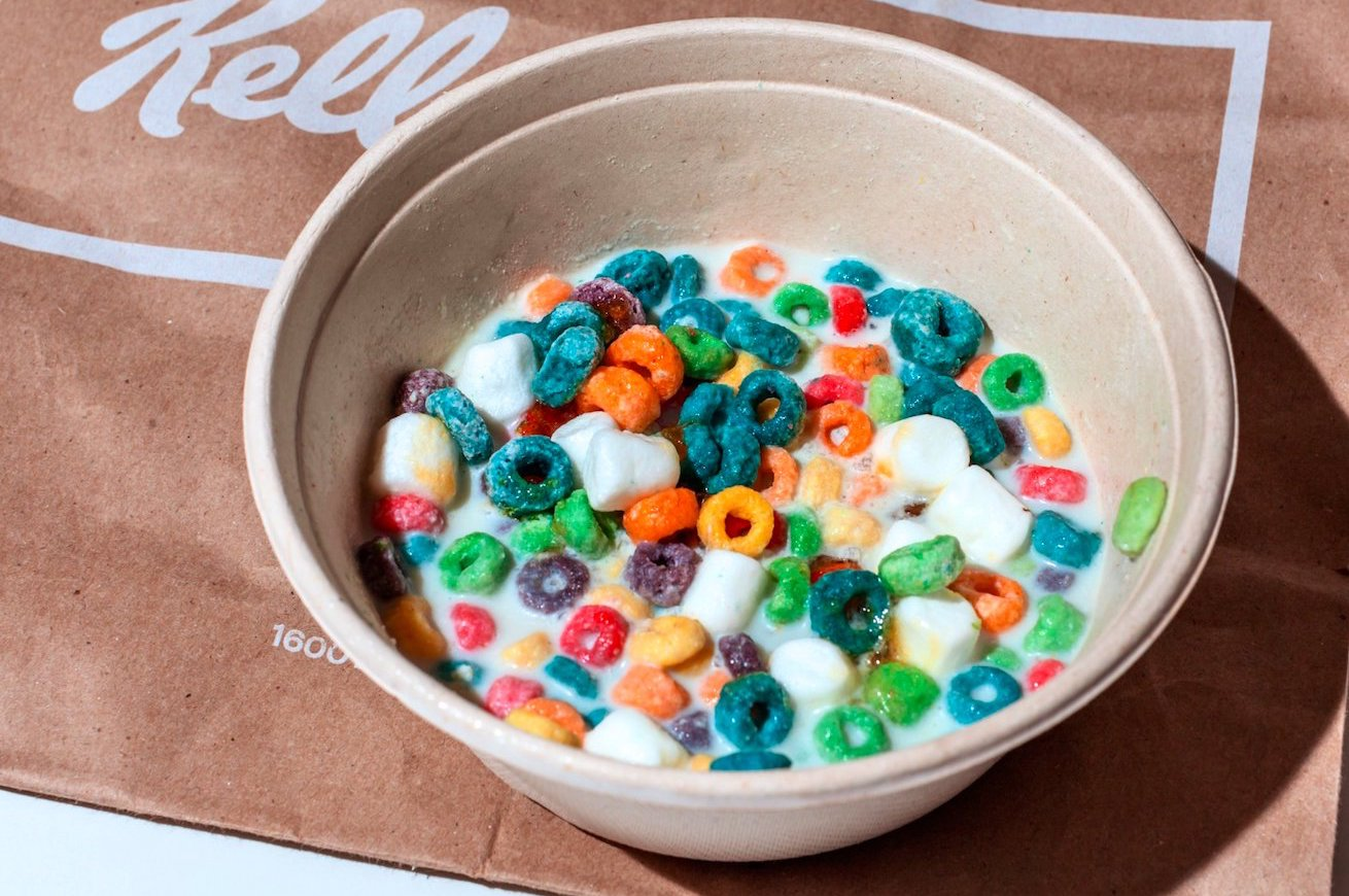 kellogg's cereal cafe