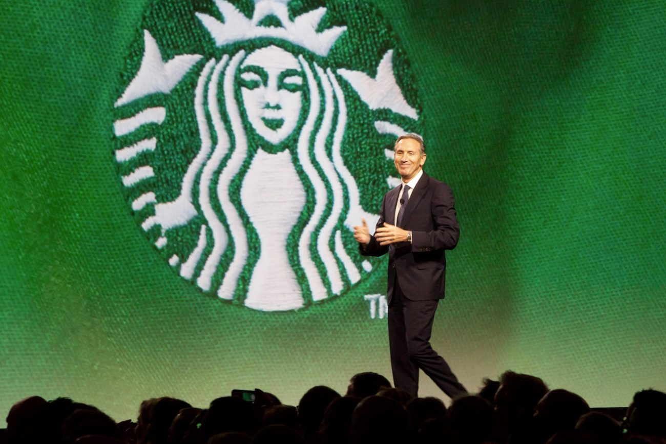 starbucks, howard schultz
