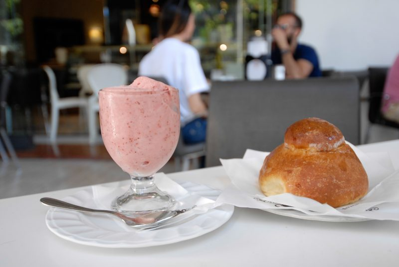 BAR EUROPA - Catania - Granita fragola