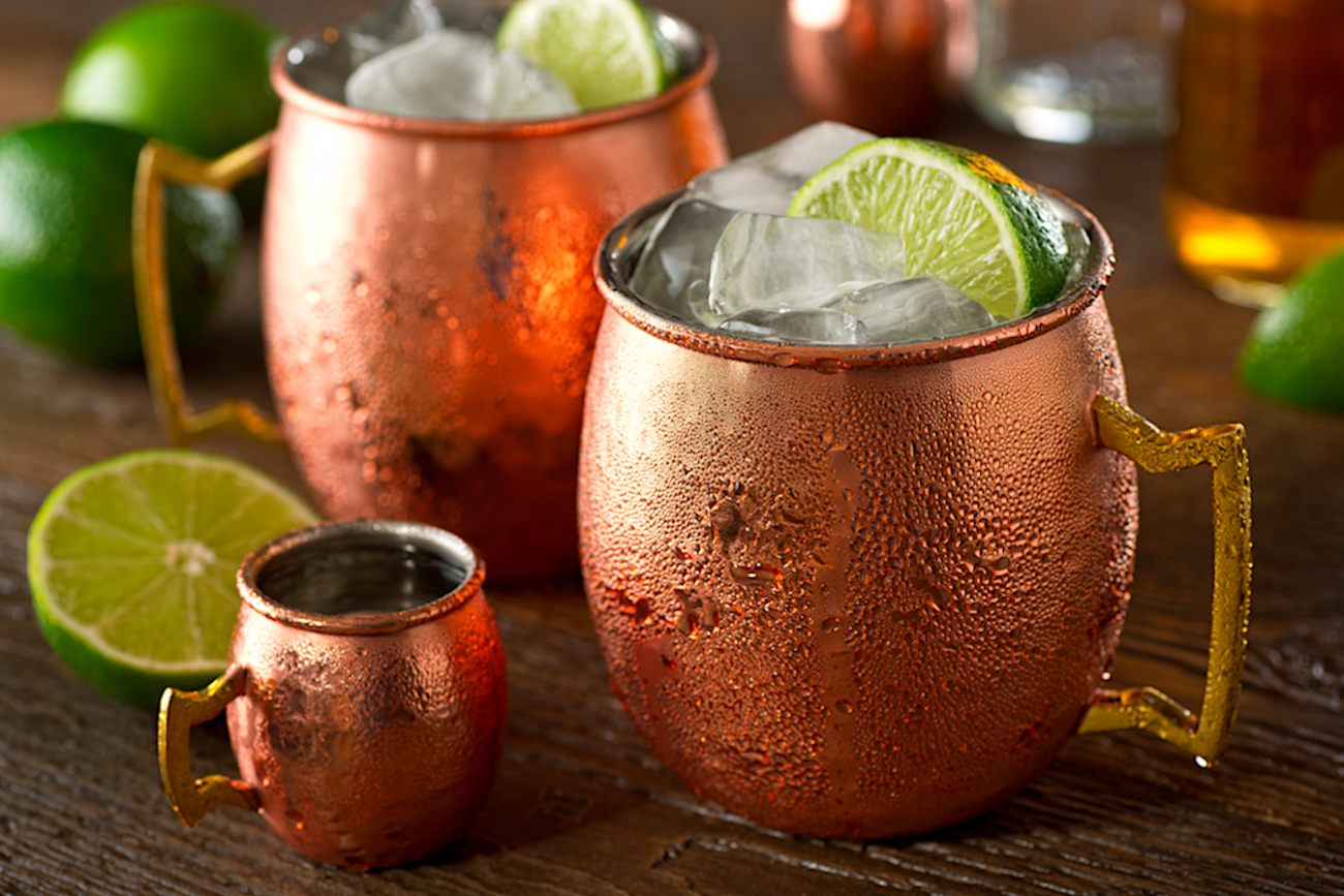 moscow mule bicchiere