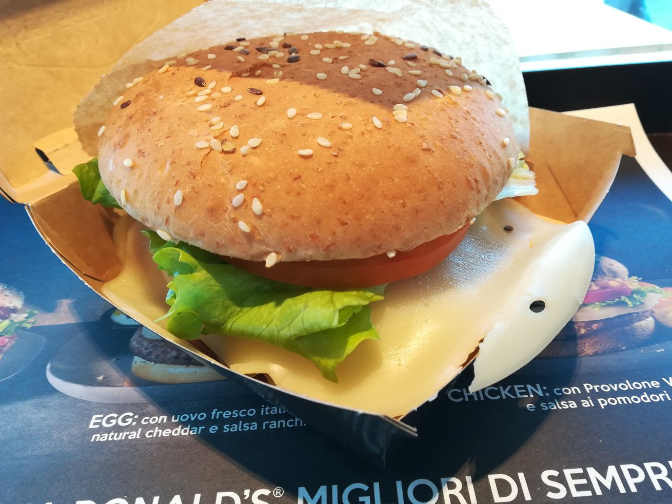mc donalds bastianich chicken
