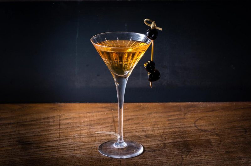 sweet martini cocktail
