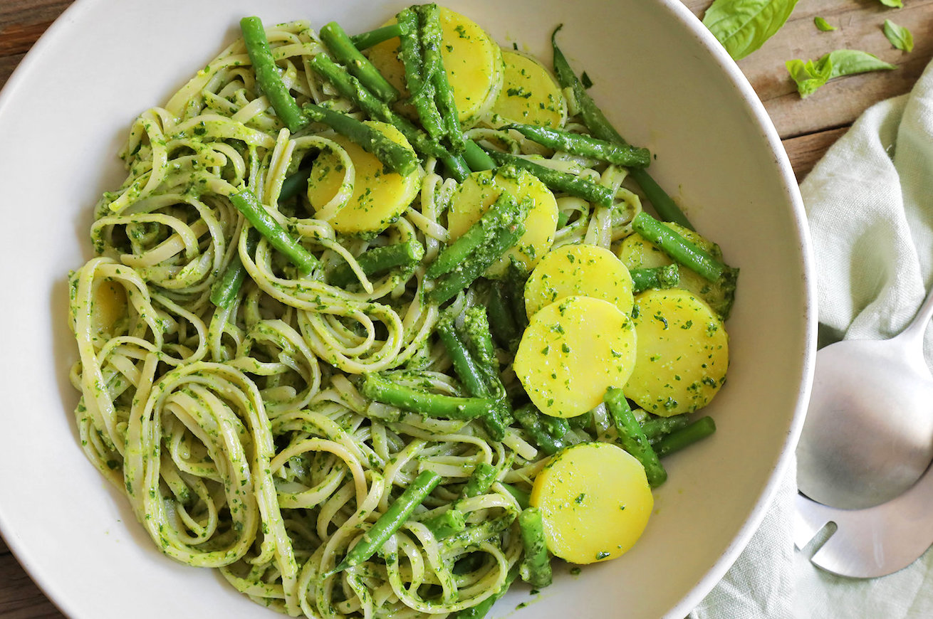 pesto patate fagiolini