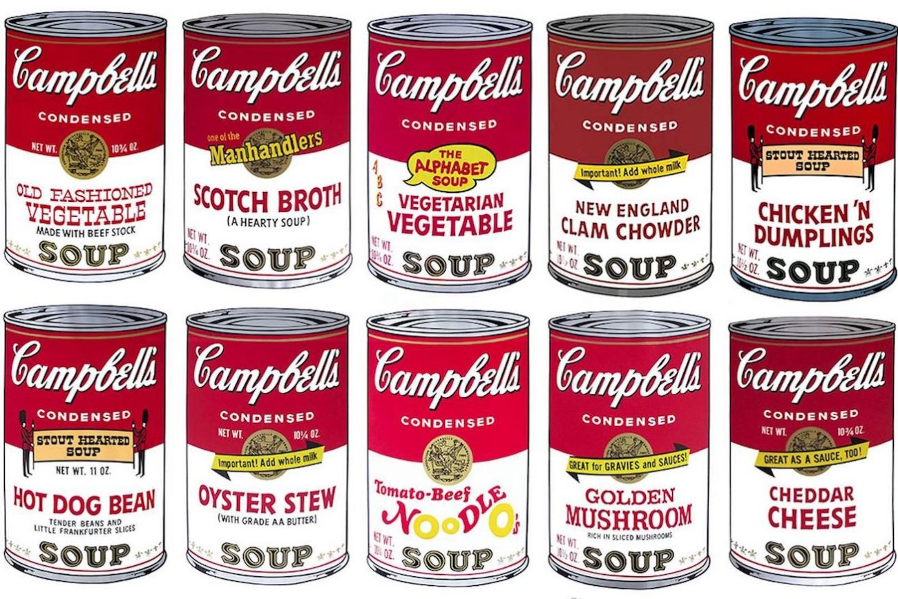 andy warhol campbell's soup - 1169×756