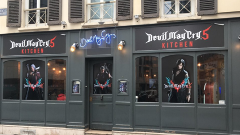 Devil May Cry 5; ristorante