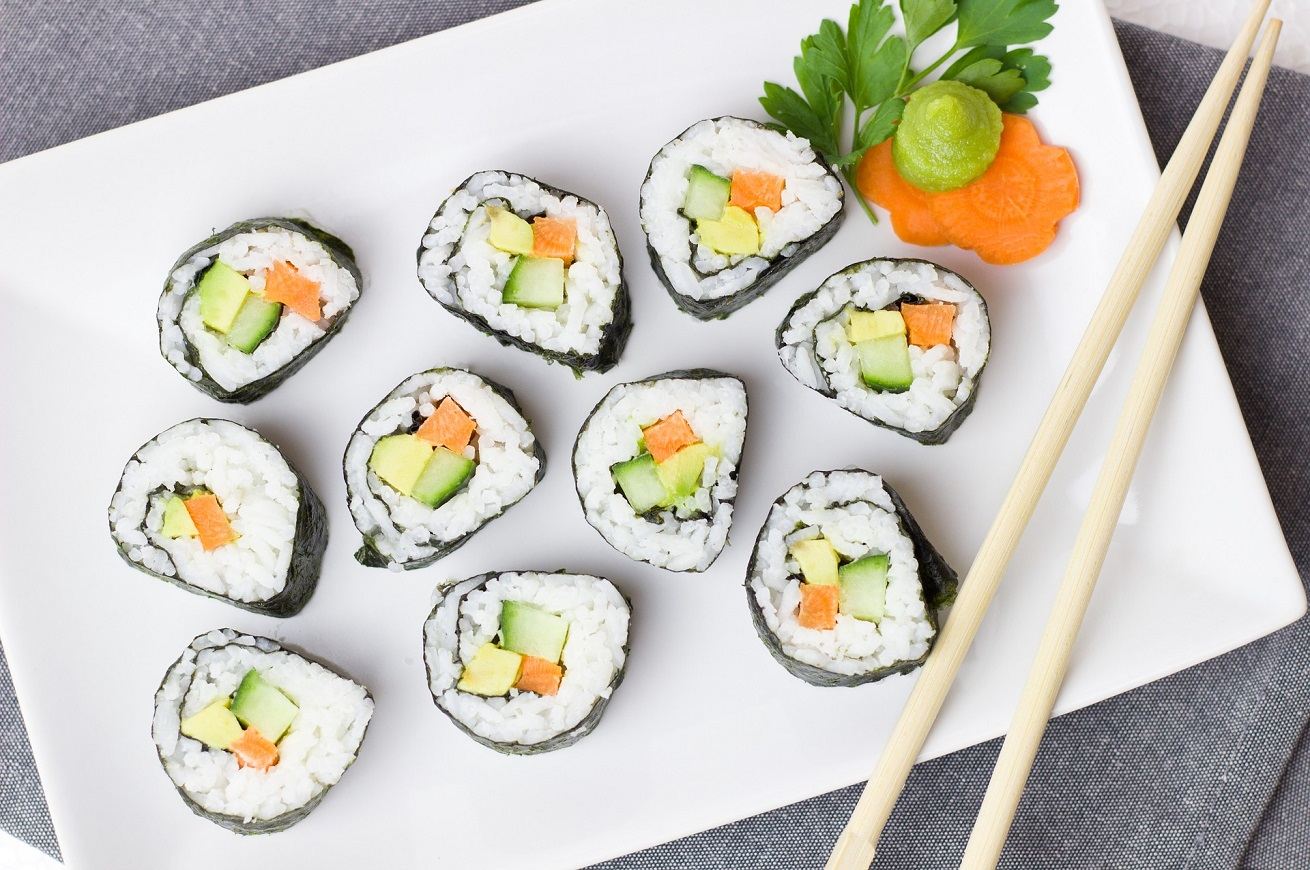 Sushi in 3D