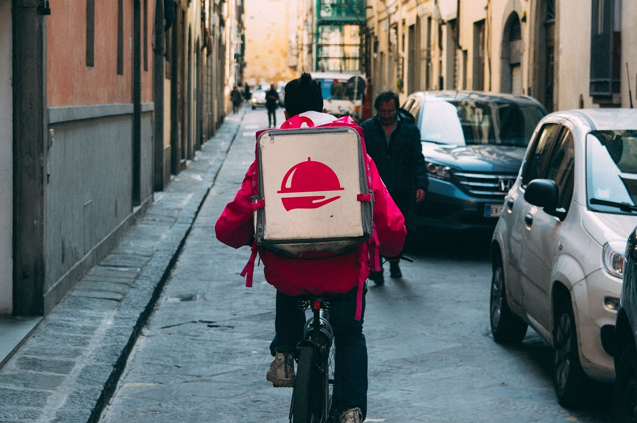 Food delivery: rider