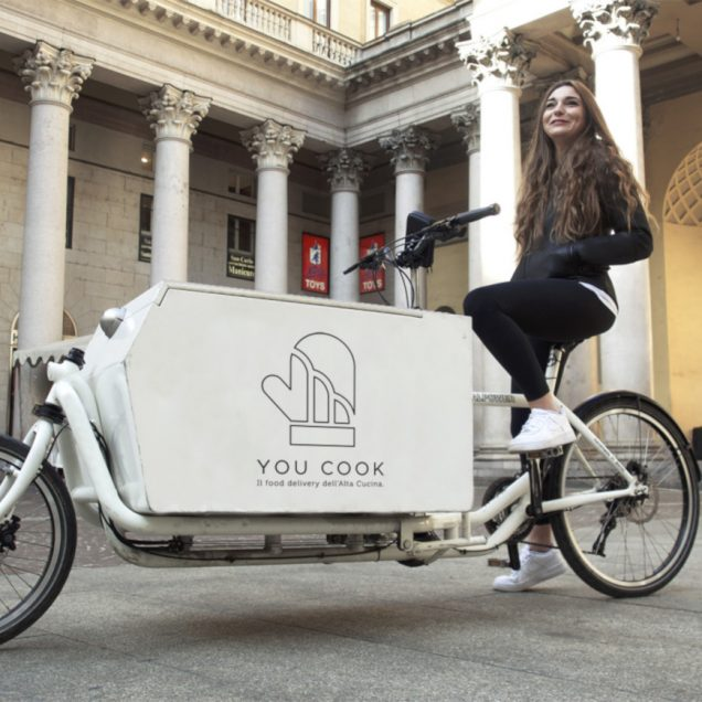 bike rider delivery youcook