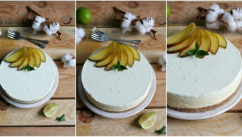 cheesecake-mango-cocco-lime-ricetta
