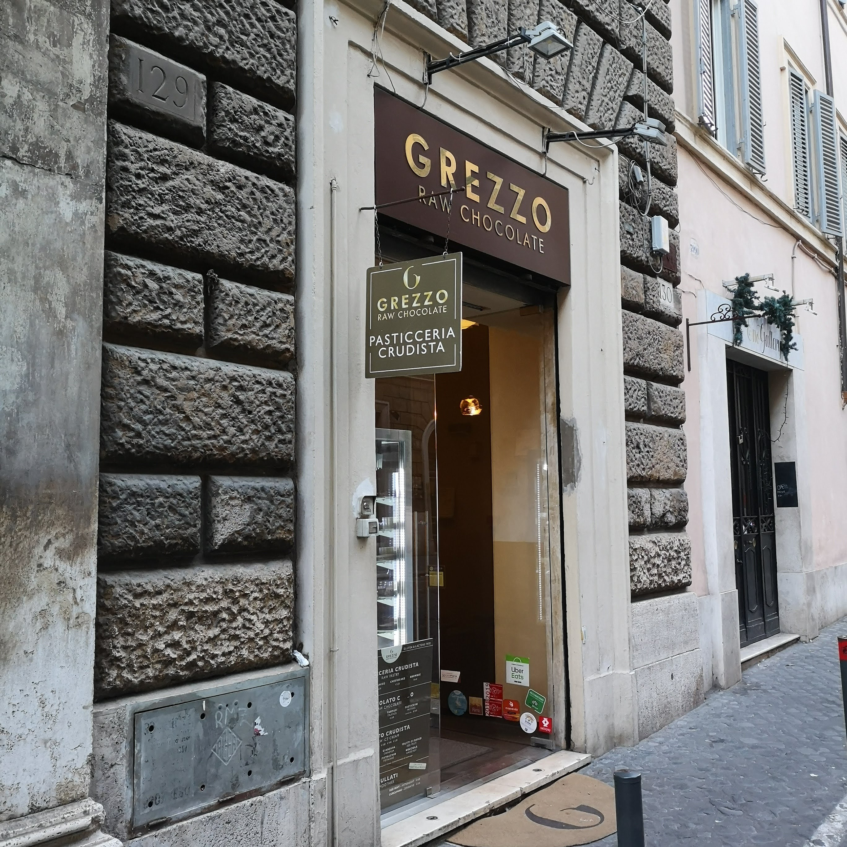 Grezzo – Raw Chocolate gelateria roma