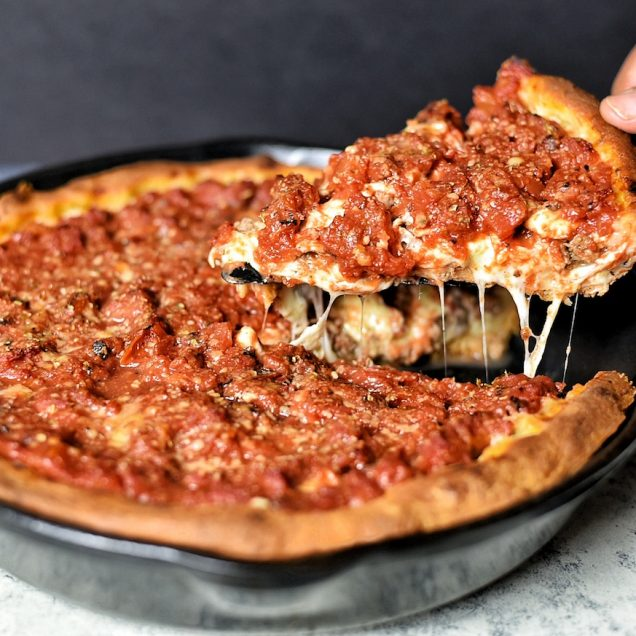pizza chicago style