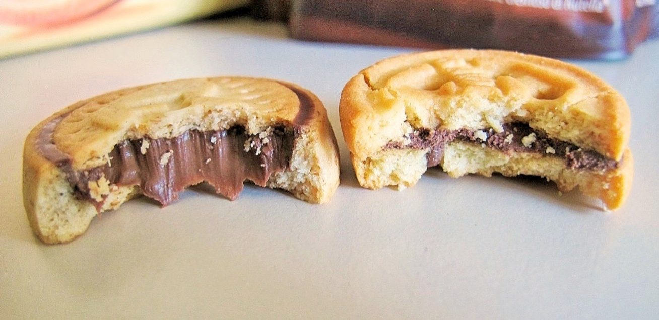 nutella biscuits vs baiocchi