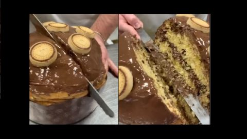 Panettone Nutella Biscuits