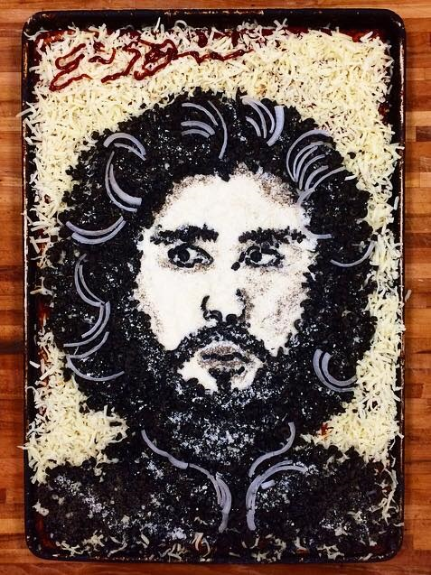 Pizza Jon Snow