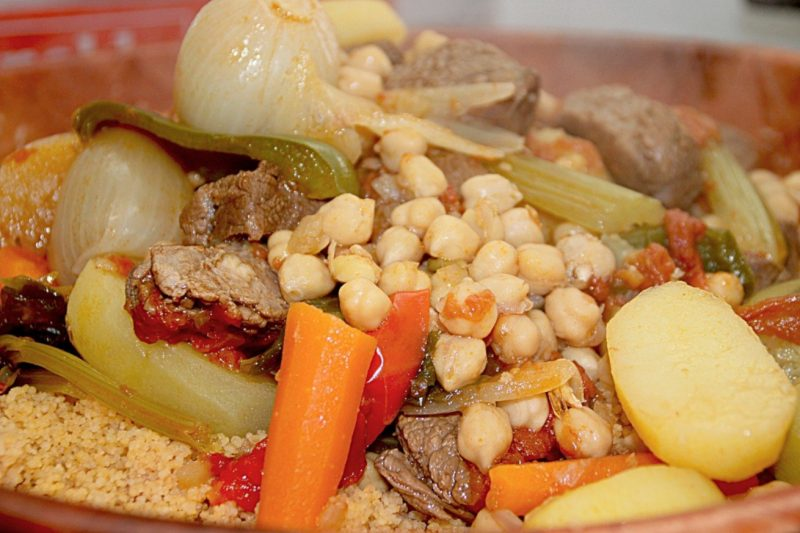 cous cous israeliano