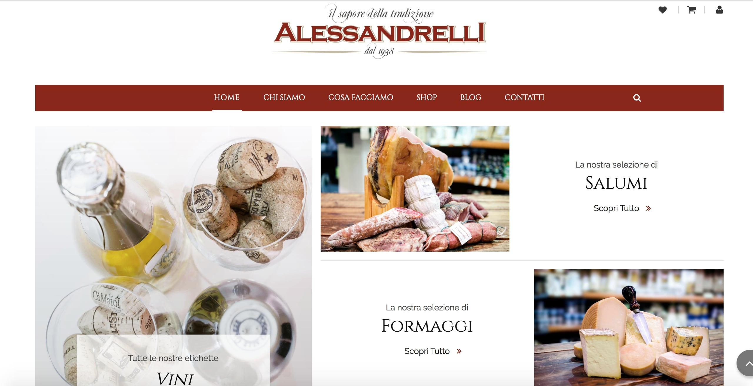 Alessandrelli Shop