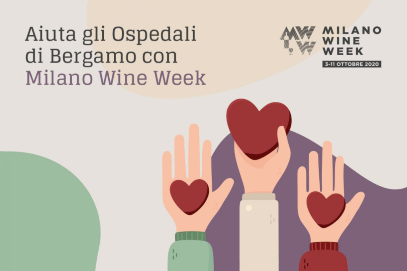 wine week milano raccolta fondi