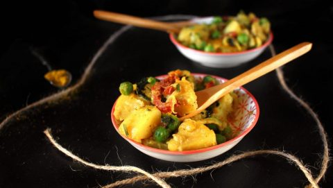 curry di patate ricetta