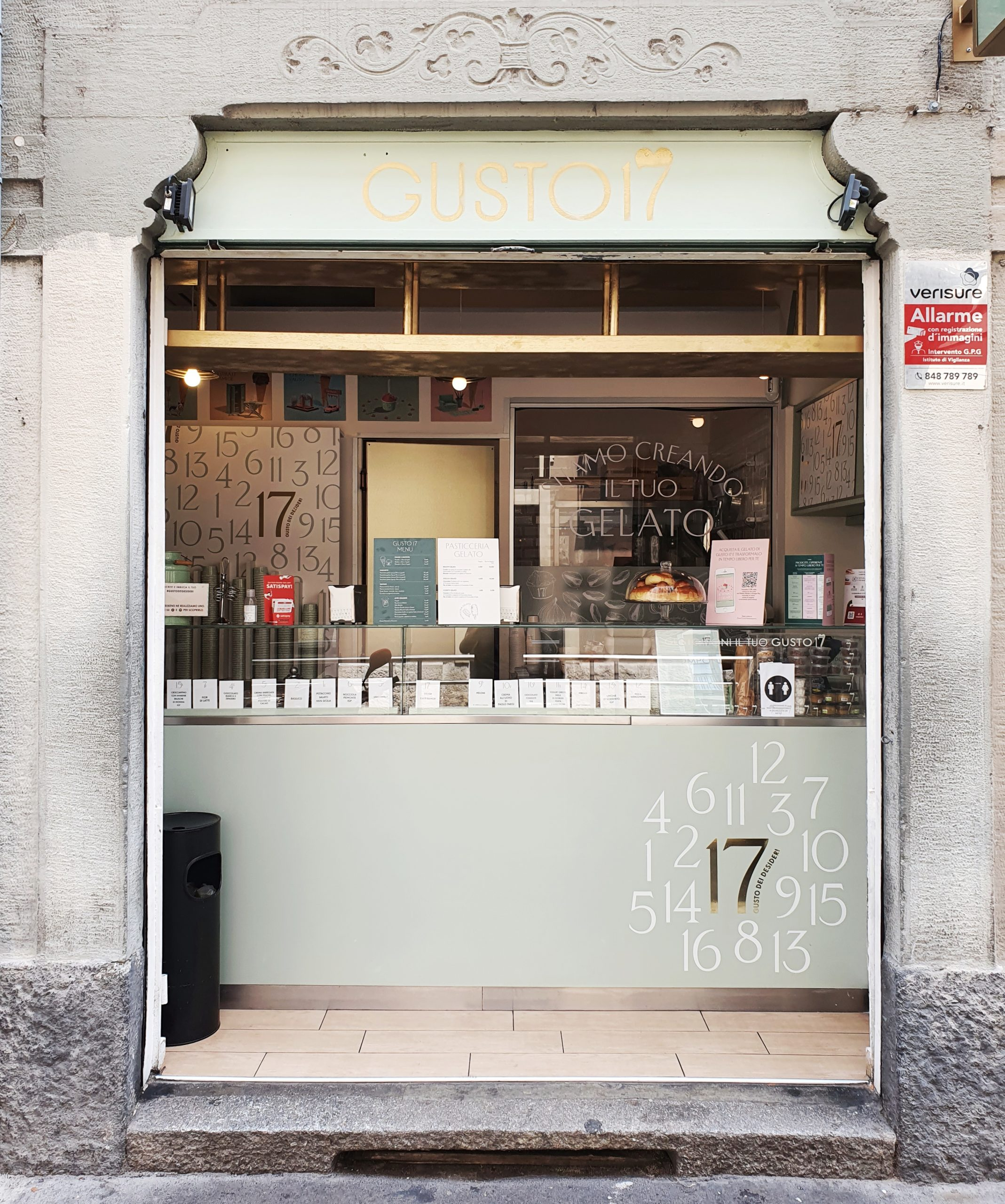 Gusto 17; gelaterie Milano