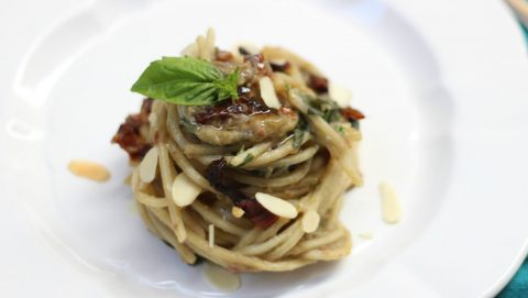 pesto di melanzane light