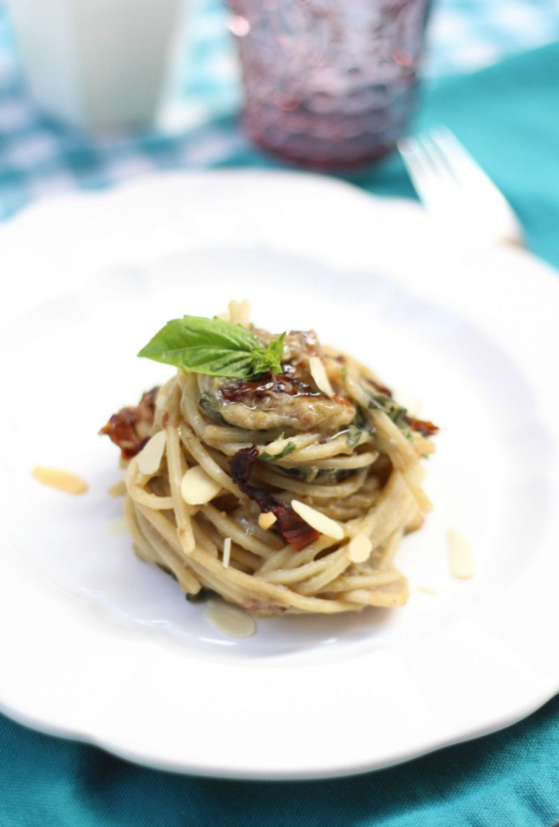 pesto di melanzane light ricetta