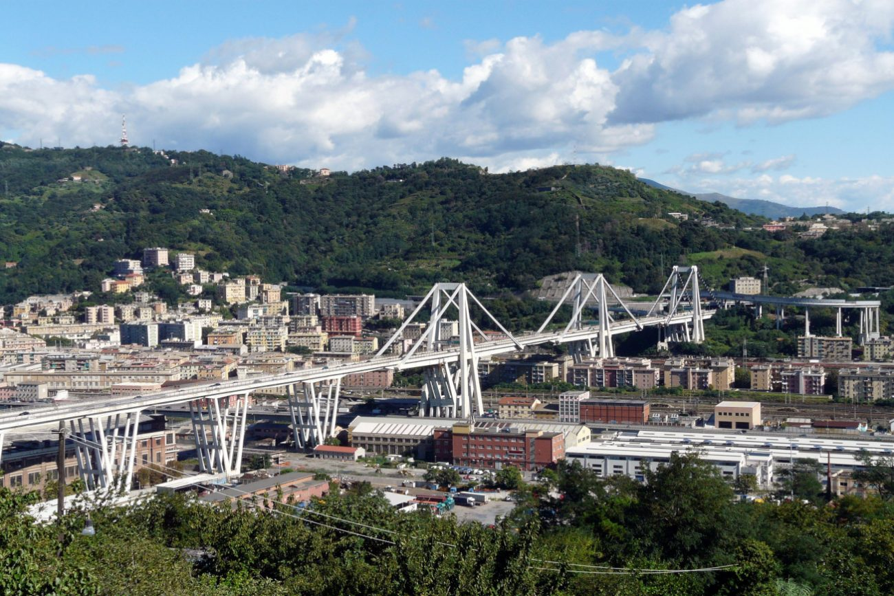 ponte morandi - ph Wikipedia Di Davide Papalini