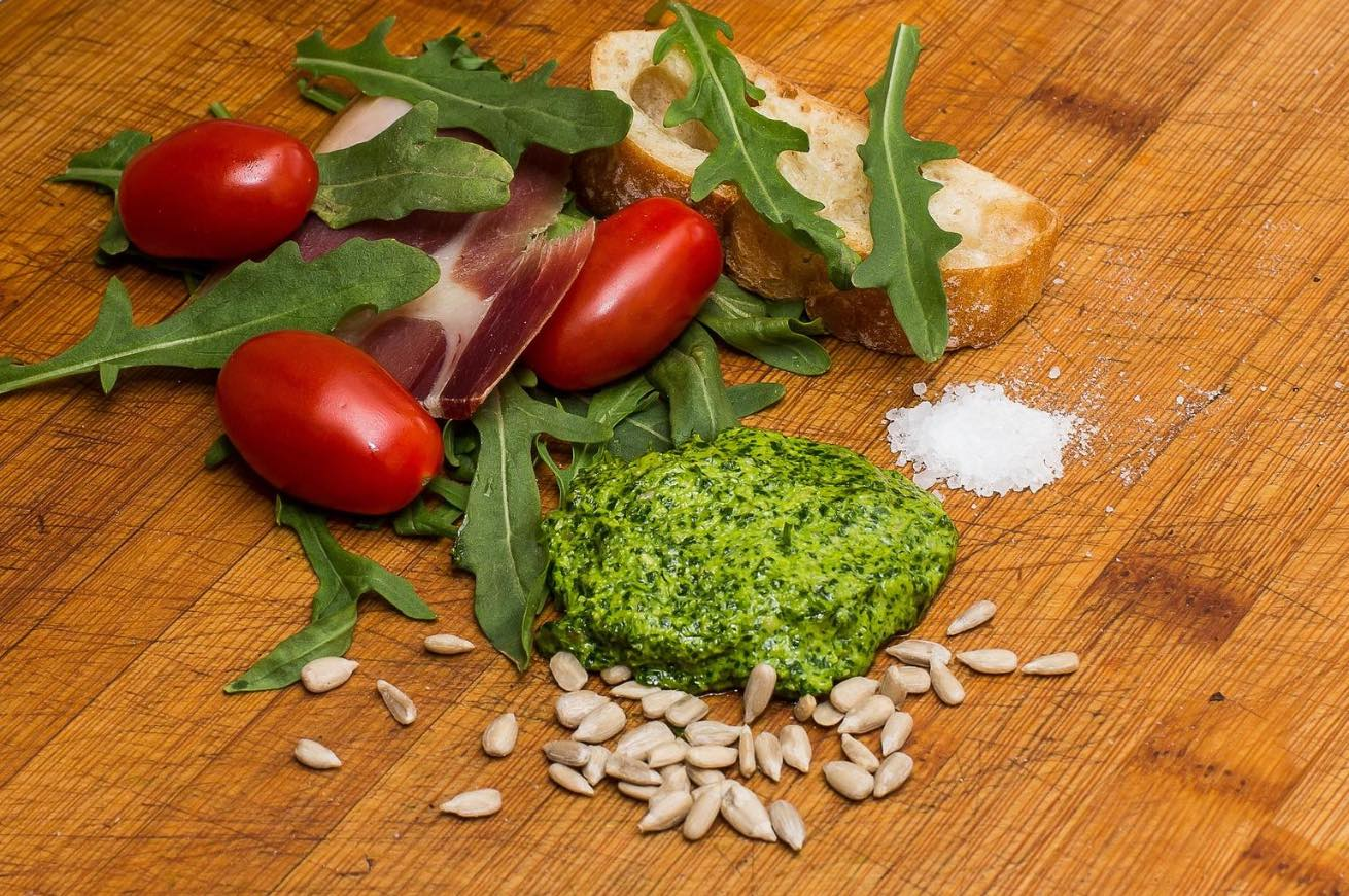 pesto rucola ingredienti