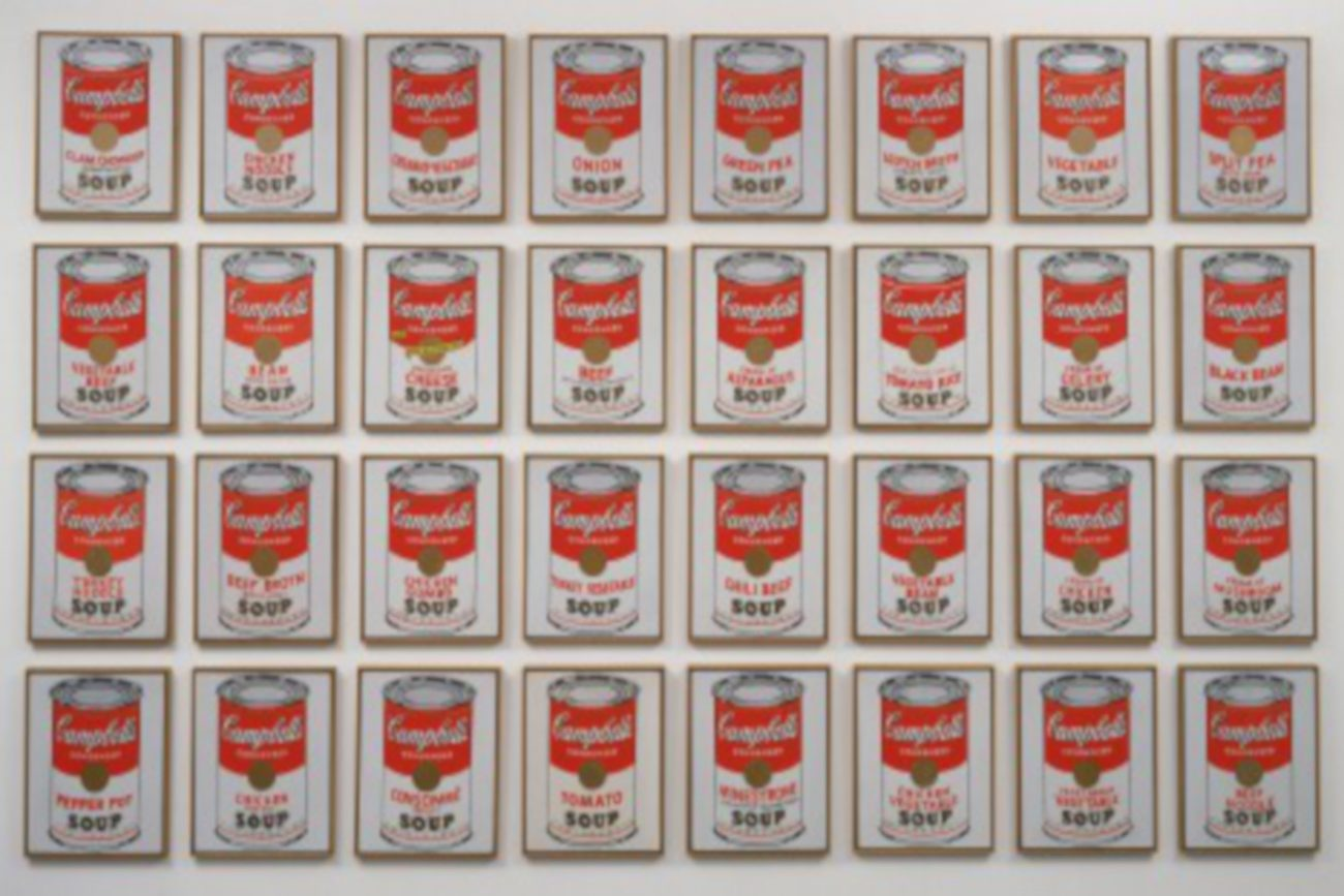 Campbell's Soup Cans Andy Warhol - MOMA