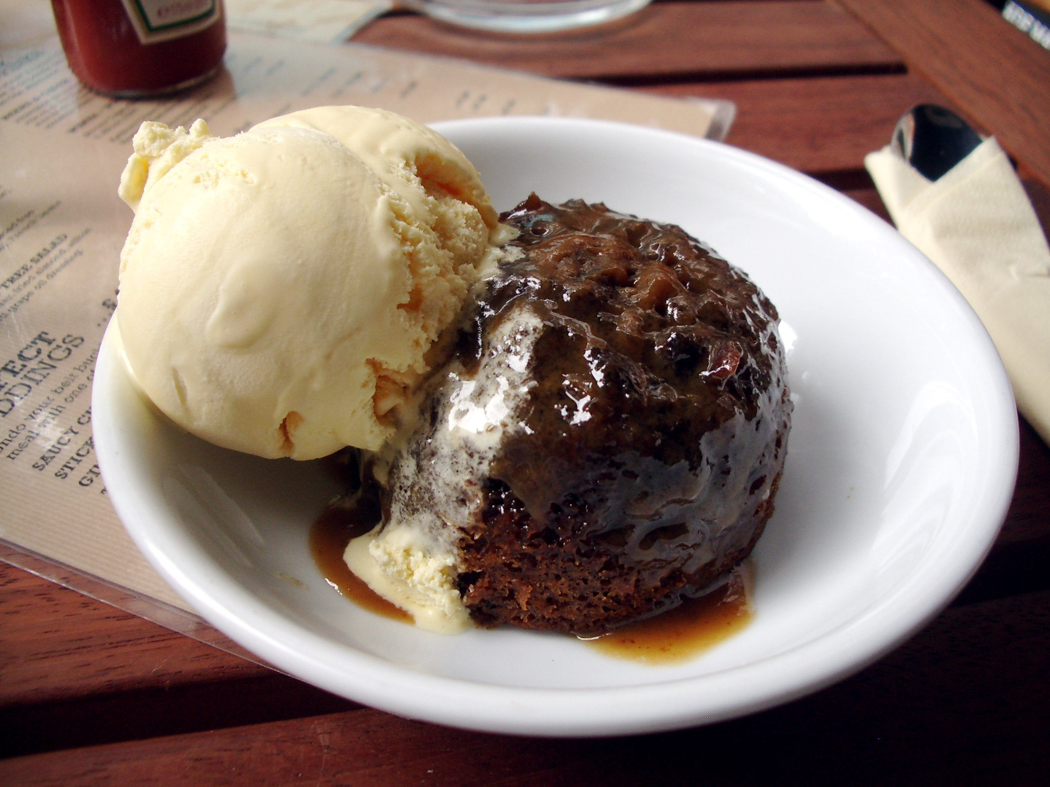toffee-pudding