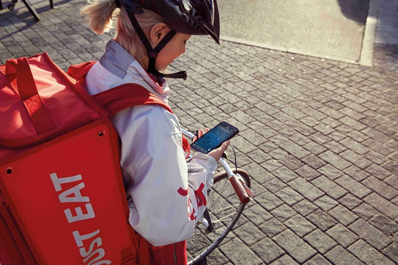 Just Eat rider contratto