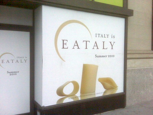 Eataly New York aprirà nell'estate del 2010