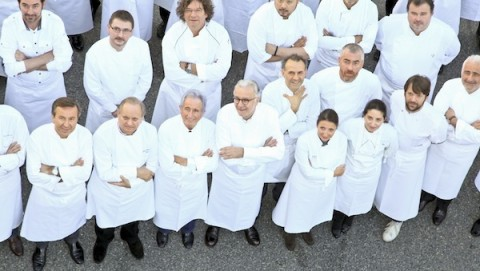 Chef all'evento Ducasse