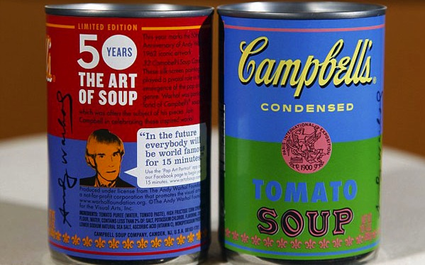 Zuppe, Campbell's, Andy Warhol