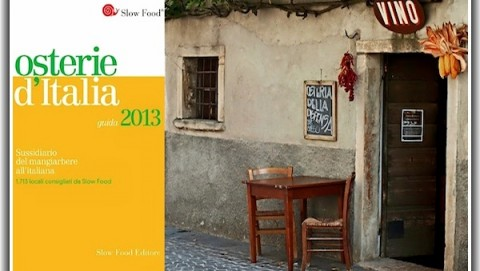 osterie d'italia, 2013, slow food