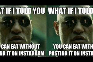 Morpheus, Matrix, Instagram