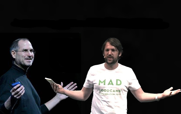 Rene Redzepi, #mad2, madfood 2012, steve jobs