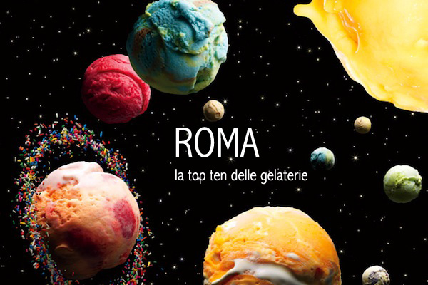 roma, top ten, gelaterie