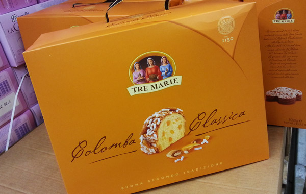 tre marie colomba packaging